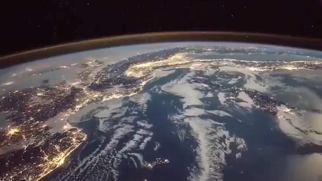 ISS potrzebuje 27 minut, żeby znad Niemiec znaleźć się nad Indonezją