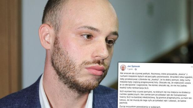 Jan Śpiewak nie wystartuje w wyborach Paweł Supernak / PAP