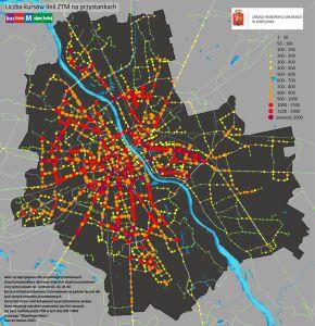 Sprawdź, gdzie staje najwięcej autobusów