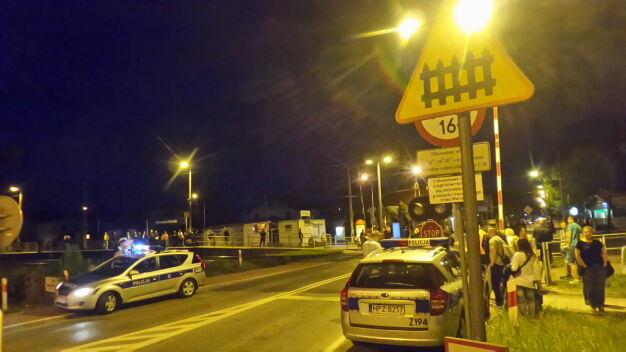 Tragiczny wypadek na torach w Wesołej
