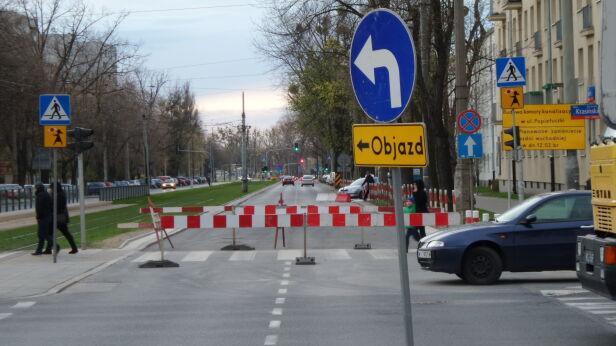 Ulica Popiełuszki ma być otwarta w sobotę Tomasz Zieliński / Tvnwarszawa.pl