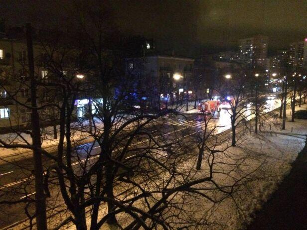 Pożar mieszkania przy ul. Waszyngtona warszawa@tvn.pl