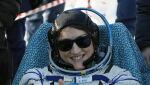 Christina Koch pobiła kobiecy rekord w kategorii czasu spędzonego w kosmosie - 328 dni (PAP/EPA/SERGEI ILNITSKY / POOL)