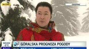 Hanka Rybka, góralka i artystka o tym, jaka będzie zima w tym roku (TVN24)